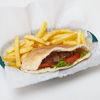 pita-house-burger-with-french-fries